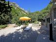 Courtyard Velo Zvirje (Brač) - Accommodation 11034 - Vacation Rentals near sea with pebble beach.