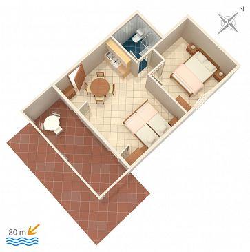 Apartament A-1108-g - Apartamenty Mavarštica (Čiovo) - 1108