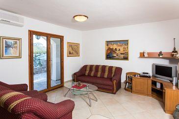 Trstenik, Living room u smještaju tipa apartment, dostupna klima, dopusteni kucni ljubimci i WIFI.