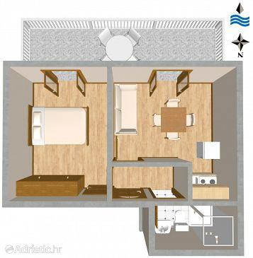 Apartment A-1109-e - Apartments Mavarštica (Čiovo) - 1109