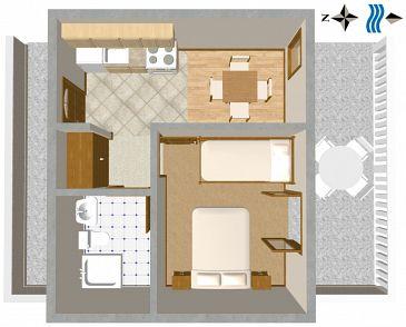Apartment A-111-a - Apartments Sveta Nedilja (Hvar) - 111
