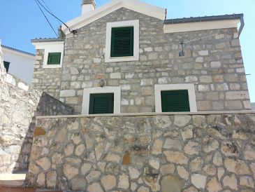 Property Medići (Omiš) - Accommodation 11108 - Vacation Rentals with pebble beach.