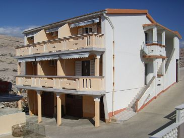 Property Zubovići (Pag) - Accommodation 11124 - Apartments near sea.