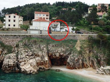 Property Vrbnik (Krk) - Accommodation 11132 - Apartments near sea with pebble beach.