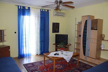 Ližnjan, Living room u smještaju tipa apartment, dostupna klima i WIFI.
