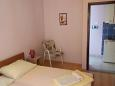 Bedroom 1 - Studio flat AS-11155-e - Apartments Podaca (Makarska) - 11155