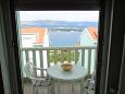 Mastrinka, Balcony u smještaju tipa apartment, s pogledom na more i WIFI.