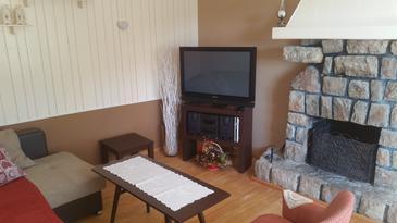 Bribir, Living room u smještaju tipa house, dopusteni kucni ljubimci i WIFI.