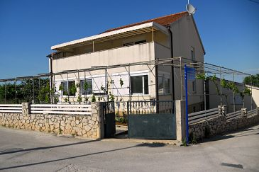 Property Vodice (Vodice) - Accommodation 11291 - Apartments with pebble beach.