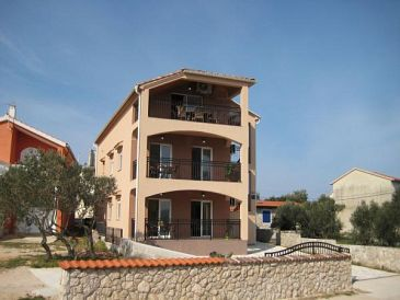 Property Jezera (Murter) - Accommodation 11304 - Apartments with pebble beach.