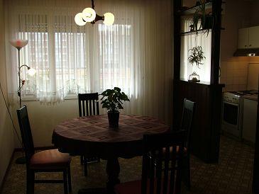 Split, Dining room u smještaju tipa apartment, dostupna klima i WIFI.
