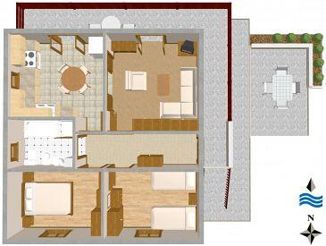 Apartment A-1135-b - Apartments Slatine (Čiovo) - 1135