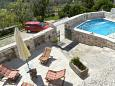 Courtyard Donji Humac (Brač) - Accommodation 11359 - Vacation Rentals with pebble beach.