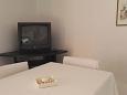 Tribunj, Dining room u smještaju tipa apartment, dostupna klima, dopusteni kucni ljubimci i WIFI.