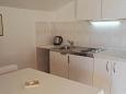 Tribunj, Kitchen u smještaju tipa apartment, dopusteni kucni ljubimci i WIFI.