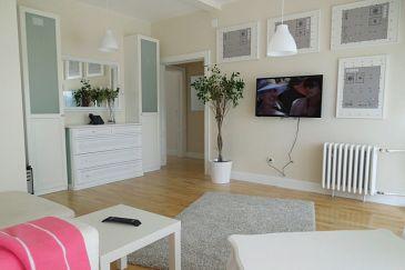 Zagreb, Living room u smještaju tipa apartment, dopusteni kucni ljubimci i WIFI.