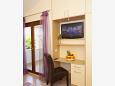Bedroom - Studio flat AS-11418-b - Apartments Makarska (Makarska) - 11418