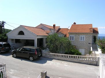 Property Postira (Brač) - Accommodation 11428 - Apartments with pebble beach.