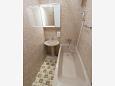 Split, Badezimmer in folgender Unterkunftsart apartment, WIFI.
