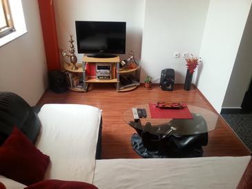 Ražanac, Living room u smještaju tipa apartment, dopusteni kucni ljubimci.