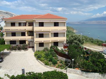 Property Pag (Pag) - Accommodation 11487 - Apartments and Rooms near sea with sandy beach.
