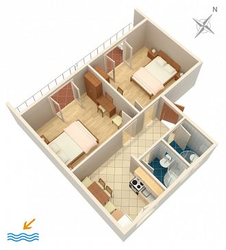 Apartament A-115-b - Apartamenty Hvar (Hvar) - 115