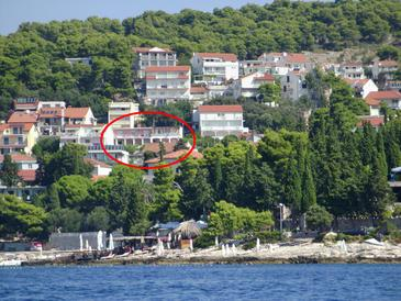 Property Hvar (Hvar) - Accommodation 115 - Apartments with pebble beach.