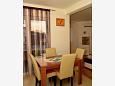 Podstrana, Dining room u smještaju tipa apartment, WIFI.