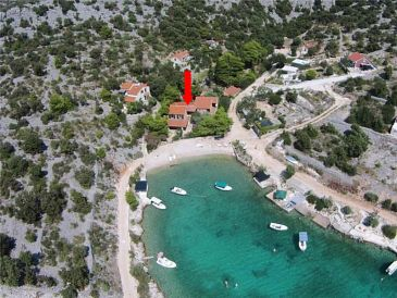 Property Sevid (Trogir) - Accommodation 11529 - Apartments near sea with pebble beach.