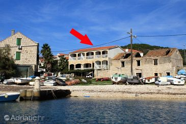 Property Rukavac (Vis) - Accommodation 1154 - Apartments near sea with pebble beach.