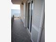 Suhi Potok, Balcony u smještaju tipa apartment, s pogledom na more i WIFI.
