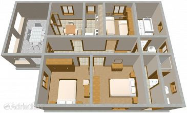 Apartment A-1158-a - Apartments Marina (Trogir) - 1158