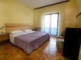 Vodice, Bedroom 1 u smještaju tipa apartment, WIFI.