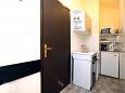 Vodice, Hallway u smještaju tipa apartment, dostupna klima, dopusteni kucni ljubimci i WIFI.