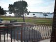 Umag, Balcony 1 u smještaju tipa apartment, s pogledom na more i WIFI.