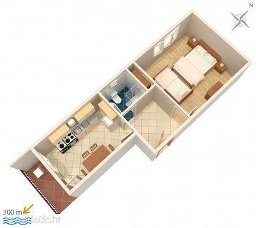 Apartment A-1165-b - Apartments Vinišće (Trogir) - 1165