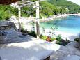 Courtyard Bratinja Luka (Korčula) - Accommodation 11653 - Vacation Rentals near sea with pebble beach.