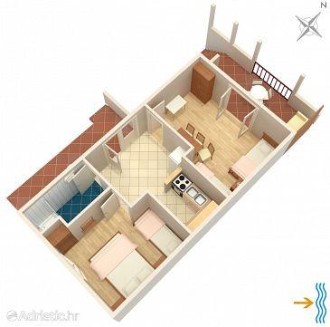 Apartment A-117-b - Apartments Mudri Dolac (Hvar) - 117