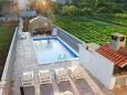 Courtyard Gustirna (Trogir) - Accommodation 11703 - Apartments with pebble beach.
