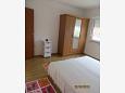 Rogoznica, Bedroom 1 u smještaju tipa apartment, dopusteni kucni ljubimci i WIFI.