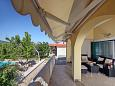 Terrace - House K-11715 - Vacation Rentals Lozovac (Krka) - 11715