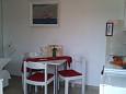 Kaštel Kambelovac, Dining room u smještaju tipa studio-apartment, WIFI.