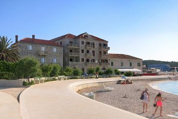 Postira, Brač, Property 11805 - Apartments blizu mora with pebble beach.