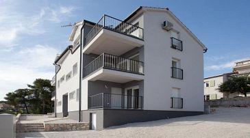 Trogir, Trogir, Property 11823 - Apartments with pebble beach.