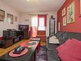 Rabac, Obývací pokoj u smještaju tipa apartment, WIFI.