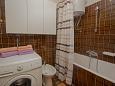 Rabac, Koupelna u smještaju tipa apartment, WIFI.