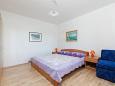 Rabac, Ložnice 2 u smještaju tipa apartment, WIFI.