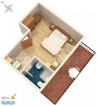 Studio flat AS-123-b - Apartments Jelsa (Hvar) - 123