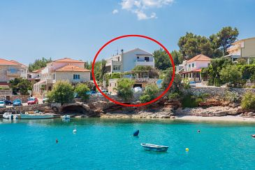Property Zavala (Hvar) - Accommodation 124 - Apartments and Rooms near sea with pebble beach.