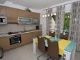 Столовая - Апартаменты A-12573-b - Апартаменты Zagreb (Grad Zagreb) - 12573